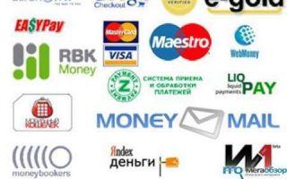 Основные виды «виртуальных» платежей